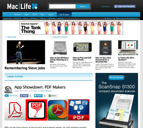 Mac|Life website