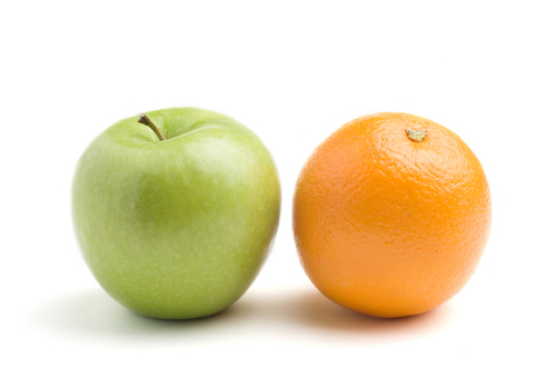 Split testing is like comparing apples and oranges
