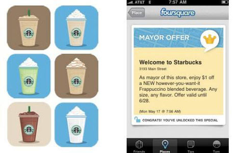 Starbucks and Foursquare